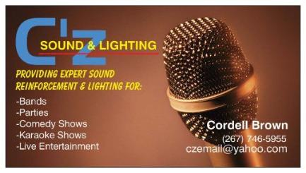 Sound and Lighting | Deja Groove - 267-746-5955